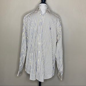 Ralph Lauren 16 1/2 34/35 Striped Button Down